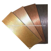 Etched Stainless Steel Sheet for Decoration, Thickness of 0.4-3.0mm, Length of 100-5,000mmNew